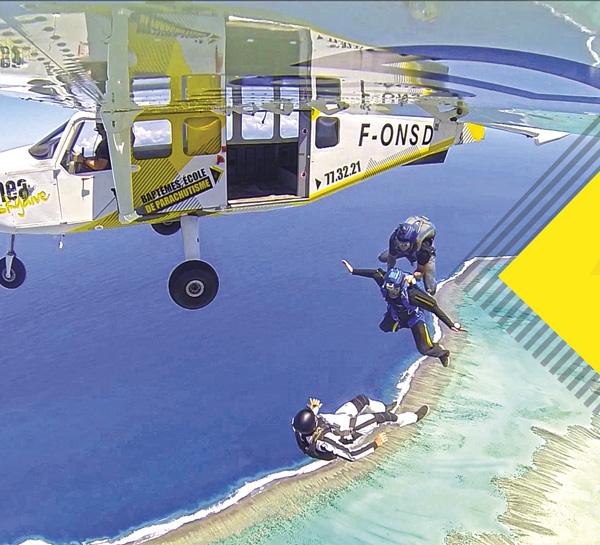 saut en parachute noumea